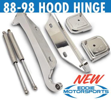Eddie Motorsports 88-98 Hood Hinges